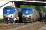 Amtrak Vermonter & Lake Shore Ltd