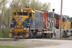 Northbound NECR Train Arrives
