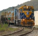 NECR Rail Train