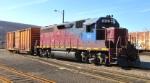 Vermont Rail in the yard