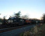 NS 9859 BNSF 6660 NS 8121
