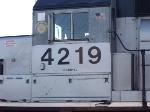 NJT 4219 Number Closeup