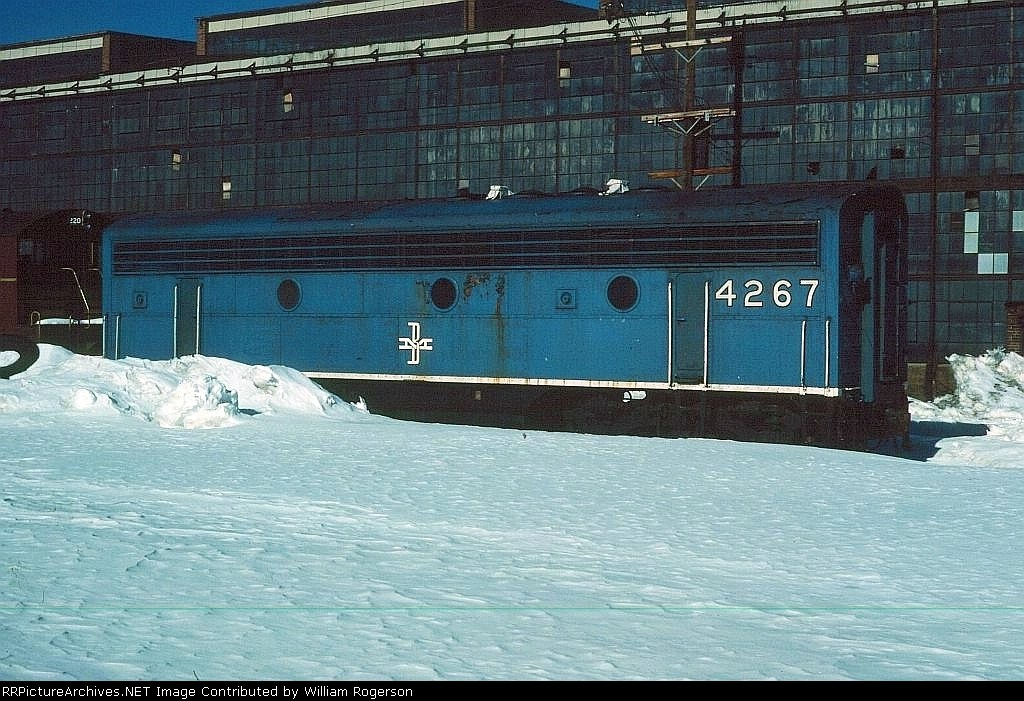 Boston and Maine Railroad (BM) EMD F7B No. 4267