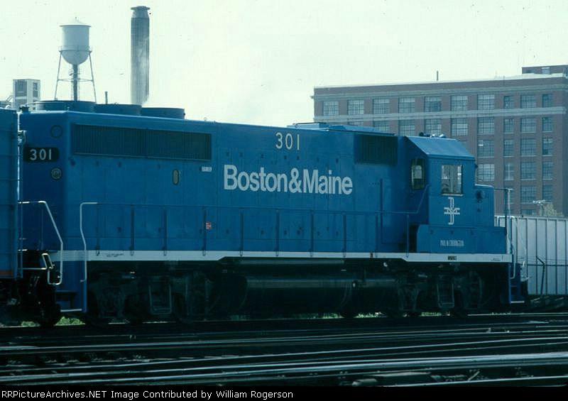 Boston and Maine Railroad EMD GP40-2 No. 301