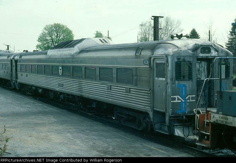 Boston and Maine Railroad Budd RDC1 No. 6147