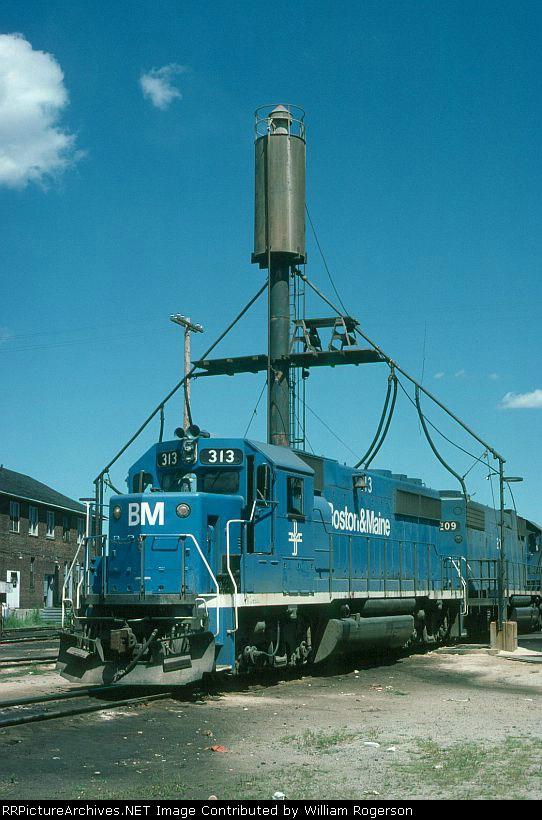 Boston and Maine Railroad EMD GP40-2 No. 313