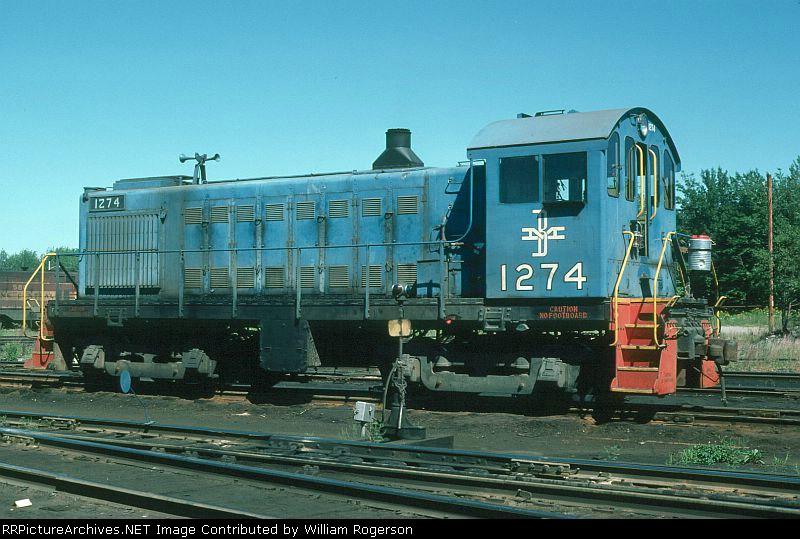 Boston and Maine Railroad Alco S4 No. 1274