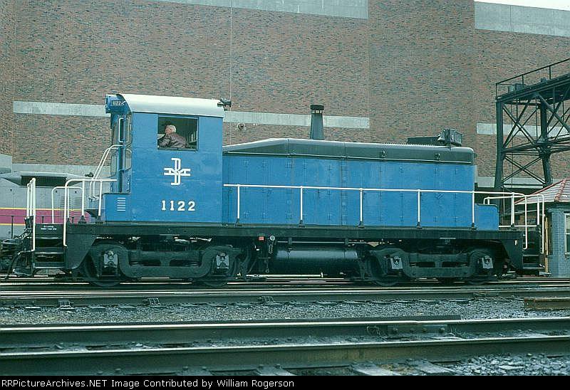 Boston and Maine Railroad EMD SW1 No. 1122