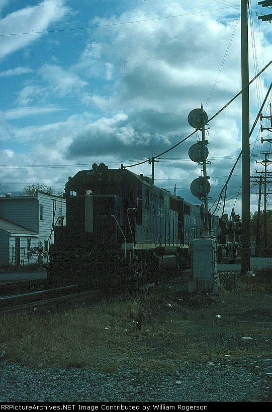 Boston and Maine Railroad EMD GP38-2 No. 202