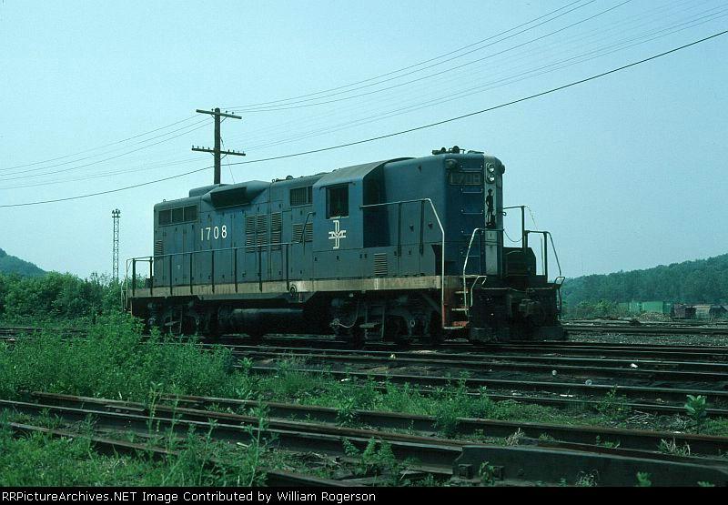 Boston and Maine Railroad EMD GP9 No. 1708