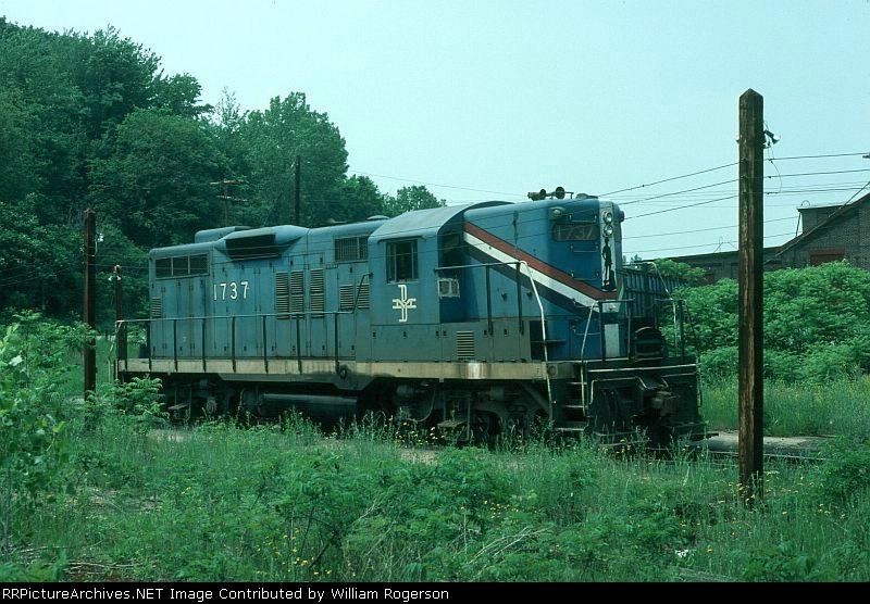 Boston and Maine Railroad EMD GP9 No. 1737