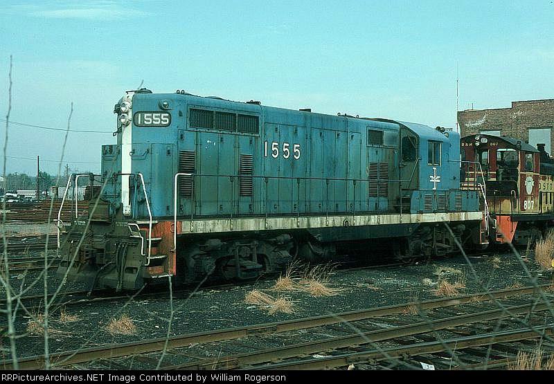 Boston and Maine Railroad EMD GP7 No. 1555