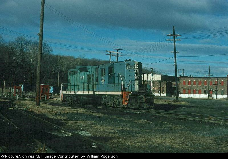 Boston and Maine Railroad EMD GP9 No. 1717