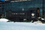 Boston and Maine Railroad (BM) Alco S3 No. 1181