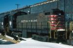 Boston and Maine Railroad (BM) Alco S3 No. 1184