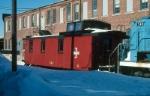 Boston and Maine Railroad Caboose No. VR-4