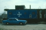 Boston and Maine Railroad Caboose No. C80R
