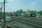 View of the Boston and Maine Railroad Freight Yard