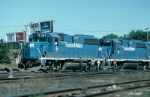 Boston and Maine Railroad EMD GP40-2's No. 307 and No. 315