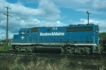 Boston and Maine Railroad EMD GP40-2 No. 316