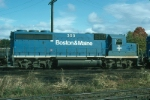 Boston and Maine Railroad EMD GP40-2 No. 309