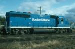 Boston and Maine Railroad EMD GP40-2 No. 302