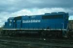 Boston and Maine Railroad EMD GP40-2 No. 307