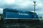 Boston and Maine Railroad EMD GP40-2 No. 317