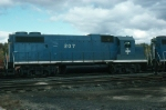 Boston and Maine Railroad EMD GP38-2 No. 207