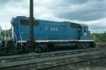 Boston and Maine Railroad EMD GP38-2 No. 203