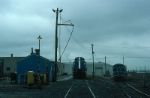Boston and Maine Railroad Engine Service Area