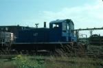 Boston and Maine Railroad EMD SW1 No. 1127