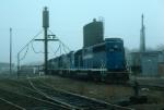 Boston and Maine Railroad EMD GP38-2 No. 210, GP40-2's No. 305 and 307
