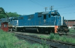 "Boston and Maine Railroad (BM) EMD GP38-2 No. 205, ""Hannah Duston"""
