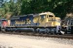 BNSF SD40-2 6933