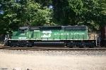 BNSF SD40-2 7812