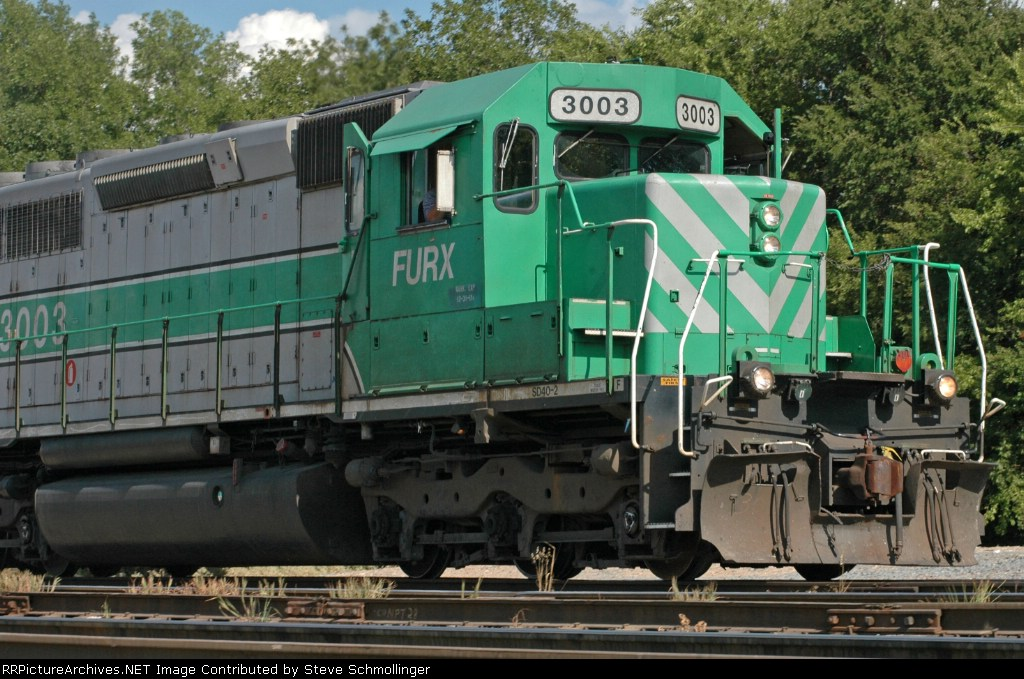 Close-up of FURX 3003