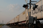 Trailers on BNSF Q train