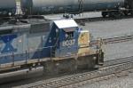 CSX 8037 going away at UPs Centennial Yard