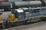 CSX 8475 at UPs Centennial Yard