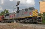 KCS DPU on unit grain train