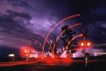 Lightning at grade crossing