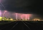 Electrical storm at Rita Road