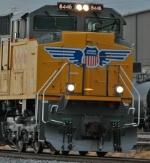 Close-up of UP 8446