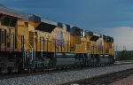 Brand-new UP EMD ACEs at Tower 55