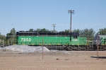 First Union Rail (FURX) EMD SD40-2 No. 7253