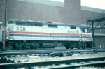Amtrak EMD F40PH No. 208