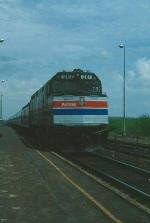 "Westbound Amtrak Train No. 173, the ""Minute Man"""