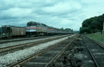 "Southbound Amtrak Train No. 48, the ""Lake Shore Limited"" led by EMD F40PHR No. 287 and an E Unit"