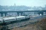 Northbound Amtrak Passenger Train with EMD F40PH No. 210 providing power